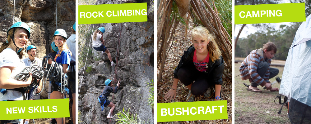Grampians School Holiday Camp Adventure Activities