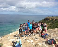 Coastal Clifftop lookout cape Otway Quest Skills for Life