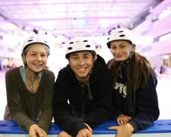 Melbourne School Camp ice skating activity