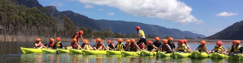 Canoeing Adventurous on the Grampians Holiday Camp