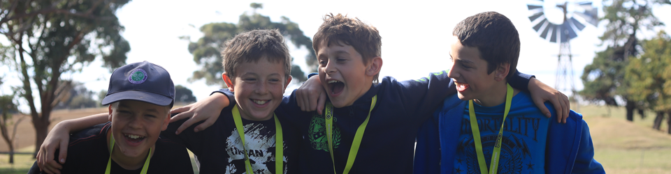 Good fun making new friends on your next holiday camp